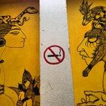 Photo taken at Hostel Tres Mundos by Jordan B. on 3/17/2013