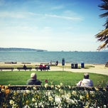 Photo taken at English Bay Beach by Charles H. on 5/1/2013