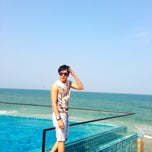 Photo taken at The Rock Hua Hin Boutique Beach Resort and Spa by Bank B. on 2/15/2014