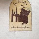 Photo taken at La Abadía by Itzi C. on 1/13/2013