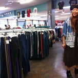 Photo taken at Buffalo Exchange by Lalena K. on 4/13/2013