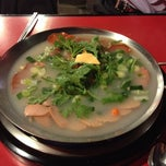 Photo taken at 놀부부대찌개&철판구이 by KimPink on 10/28/2013