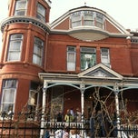 Photo taken at The Lumber Baron Inn and Gardens by Elizabeth T. on 5/4/2013