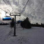 Photo taken at Mount Snow Main Base Lodge by Josh P. on 2/22/2013