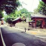 Photo taken at 善光寺坂 by まさ・なち リ. on 5/28/2013