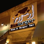 Photo taken at Zinburger Wine & Burger Bar by Victoria M. on 10/13/2012