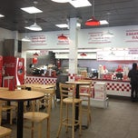 Photo taken at Five Guys by Tarik S. on 11/29/2012