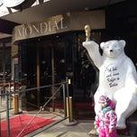 Photo taken at Hotel Mondial by Yana K. on 3/22/2015