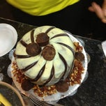 Photo taken at Sertanense Restaurante e Lanchonete by Wagner A. on 10/3/2012