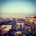 Photo taken at Place Jemaa el-Fna by Olga T. on 8/27/2013