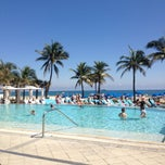 Photo taken at Pool @ Sheraton Ft. Lauderdale by Donna N. on 3/7/2013