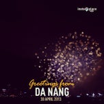 Photo taken at Da Nang Fireworks Competition by Vivian N. on 4/29/2013