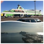 Photo taken at Tallink M/S Star by Jani M. on 3/29/2013