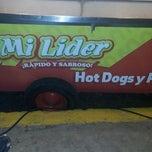 Photo taken at Hot Dogs Mi Líder by Ivan V. on 5/26/2013