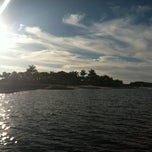 Photo taken at The Lake Lodge Pool & Beach by Christina T. on 12/30/2012