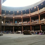 Photo taken at Shakespeare's Globe Theatre by Ed W. on 5/7/2013