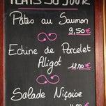 Photo taken at Café des Mousquetaires by Marco Daniel P. on 5/19/2014