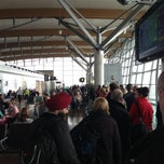 Photo taken at Gate 4 by Chris B. on 3/28/2013