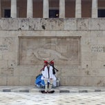 Photo taken at Πλατεία Συντάγματος (Syntagma Square) by Pera P. on 12/2/2012