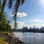 Photo taken at Randall's Island by Nadia N. on 8/28/2012