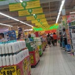 Photo taken at Giant Hypermarket by Timothy N. on 12/17/2012