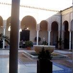 Photo taken at Hotel Parador de Carmona by David B. on 1/26/2014