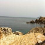 Photo taken at Scogliera di Marciana Marina by Nicola C. on 4/26/2013
