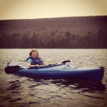 Photo taken at Mauch Chunk Lake Park by Stephanie A. on 4/28/2013