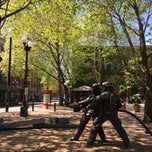 Photo taken at Pioneer Square by Jacqueline F. on 4/27/2015
