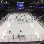 Photo taken at Pegula Ice Arena by John K. on 10/25/2013