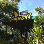 Photo taken at Café Amazon (คาเฟ่ อเมซอน) by Nutty on 1/6/2013