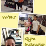 Photo taken at Shape-up Fitness Center by Annalyn C. on 7/26/2013