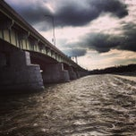 Photo taken at John Harris Bridge by Ryan C. on 2/6/2013
