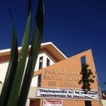 Photo taken at Parroquia Santa Rosa De Lima by Lissett A. on 4/13/2014