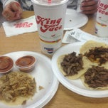 Photo taken at King Taco by Salvador S. on 1/18/2013
