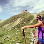 Photo taken at Rifugio Passo Sella by Gabriele D. on 8/4/2013