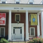 Photo taken at Sigma Chi Fraternity - University of Maryland by ShannonRenee M. on 9/15/2012