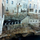 Photo taken at Grotta Palazzese by Mario M. on 9/22/2012