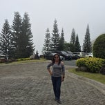 Photo taken at The Spa and Lodge at Tagaytay Highlands by Ann G. on 2/1/2014