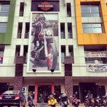 Photo taken at Mabua Harley-Davidson by Luthfi M. on 3/3/2014