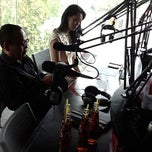 Photo taken at Swaragama 101.7 FM by Bang Melky B. on 4/10/2013