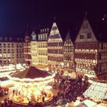 Photo taken at Weihnachtsmarkt Frankfurt by Chris A. on 12/12/2012