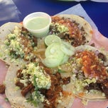 Photo taken at Tacos La Lomita by Aggie O. on 12/29/2012