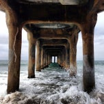 Photo taken at Manhattan Beach Pier by Andy M. on 7/23/2013