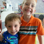 Photo taken at Wiggle Worms Children's Hair Studio by Heather C. on 6/18/2013