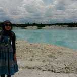 Photo taken at Tambang Kaolin, Belitung by Irra A. on 3/31/2014