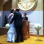 Photo taken at The Chapel at Excalibur by Adriana R. on 9/4/2013