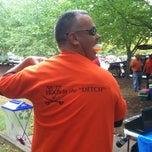 Photo taken at 'Hoos Tailgating by Julie C. on 9/29/2012