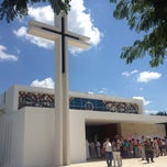 Photo taken at Iglesia Del Buen Pastor by Cristian C. on 10/13/2013