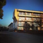 Photo taken at 栄町立栄東中学校 by おんちゃん on 12/31/2013